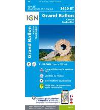 Wanderkarten Frankreich IGN Carte 3620 ET Frankreich - Grand Ballon 1:25.000 Institut Geographique National
