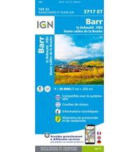 Wanderkarten Frankreich IGN Carte 3717 ET Frankreich - Barr 1:25.000 Institut Geographique National