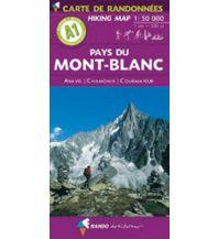 Wanderkarten Frankreich Pays du Mont-Blanc Rando Editions