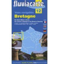 Revierführer Binnen Fluviacarte 12 - Bretagne Navicarte - Fluvial