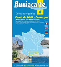 Revierführer Binnen Fluvicarte 4 - Canal du Midi - Camargue Navicarte - Fluvial