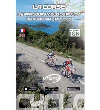 Radführer VTopo Rennradroutenführer La Corse - 40 parcours vélo de route Vtopo