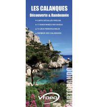 Wanderkarten Frankreich VTopo Decouverte et Randonnée - Les Calanques 1:20.000 Vtopo
