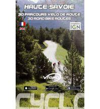 Radführer VTopo Rennradführer Frankreich - Haute Savoie - 30 parcours velo de route Vtopo