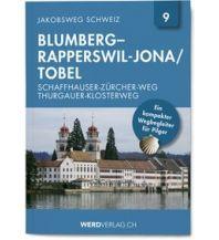 Wanderführer Schaffhauser-Zürcher-Weg Thurgauer-Klosterweg Werd Verlag Zürich