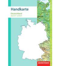 Schulhandkarten Handkarte Deutschland physisch + politisch 1:2.000.000 Westermann Schulbuchverlag GmbH.