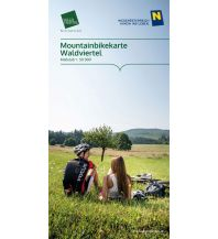 Mountainbike-Touren - Mountainbikekarten Mountainbikekarte Waldviertel 1:50.000 Destination Waldviertel