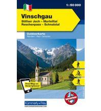 Wanderkarten Südtirol & Dolomiten Vinschgau, Ortler-Stilfer Joch, Reschenpass Hallwag Kümmerly+Frey AG