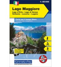 Wanderkarten Schweiz & FL Lago Maggiore, Lago d'Orta, Lago Varese, Verbania, Locarno, Lugano 1:50.000 Hallwag Kümmerly+Frey AG