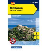 Wanderkarten Spanien Mallorca, Palma de Mallora Hallwag Kümmerly+Frey AG