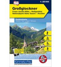 Wanderkarten Osttirol Grossglockner, Franz-Josefs-Höhe, Heiligenblut, Nationalpark Hohe Tauern, Hochtor Hallwag Kümmerly+Frey AG