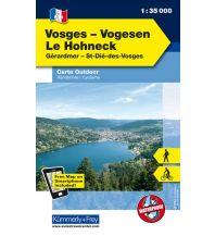 Wanderkarten Frankreich Vogesen - Le Hohneck, Gérardmer, St-Dié-des-Vosges Hallwag Kümmerly+Frey AG