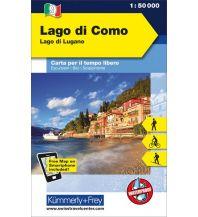 Wanderkarten Schweiz & FL Lago di Como Lago di Lugano Hallwag Kümmerly+Frey AG