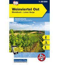 Wanderkarten Niederösterreich K&F-Karte 19, Weinviertel 1:50.000 Hallwag Kümmerly+Frey AG