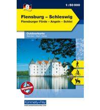 Wanderkarten Flensburg - Schleswig, Flensburger Förde, Angeln, Schlei Hallwag Kümmerly+Frey AG