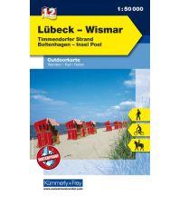 Wanderkarten Lübeck - Wismar Hallwag Kümmerly+Frey AG