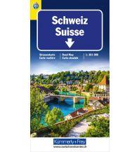 Straßenkarten Schweiz TCS 2020 Strassenkarte Hallwag Kümmerly+Frey AG