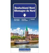 Straßenkarten Deutschland Nord Strassenkarte Hallwag Kümmerly+Frey AG
