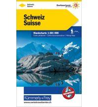 Wanderkarten Schweiz & FL Schweiz Hallwag Kümmerly+Frey AG