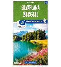 Silvaplana - Bergell 46 Wanderkarte 1:40 000 matt laminiert Hallwag Kümmerly+Frey AG