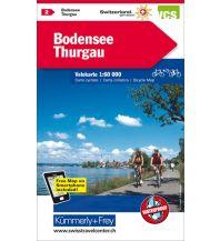 Radkarten Bodensee, Thurgau Velokarte Nr. 2 Hallwag Kümmerly+Frey AG