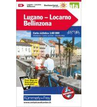 Radkarten Lugano - Locarno - Bellinzona Hallwag Kümmerly+Frey AG