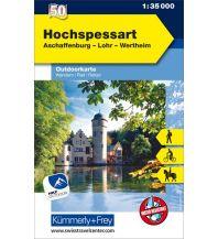 Hochspessart, Aschaffenburg, Lohr, Wertheim Hallwag Kümmerly+Frey AG