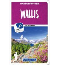K+F-Wanderführer Wallis Hallwag Kümmerly+Frey AG