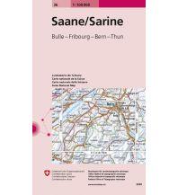 Wanderkarten Schweiz & FL Saane / Sarine Bundesamt für Landestopographie