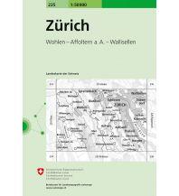 Wanderkarten Zürich 1:50.000 Bundesamt für Landestopographie