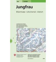 Wanderkarten Schweiz & FL Landeskarte der Schweiz 264, Jungfrau 1:50.000 Bundesamt für Landestopographie