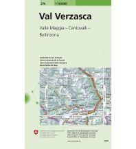 Wanderkarten Landeskarte der Schweiz 276, Val Verzasca 1:50.000 Bundesamt für Landestopographie