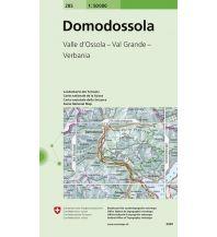 Wanderkarten Landeskarte der Schweiz 285, Domodossola 1:50.000 Bundesamt für Landestopographie