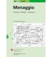 Wanderkarten Schweiz & FL Menaggio Bundesamt für Landestopographie