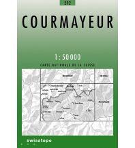Wanderkarten Courmayeur Bundesamt für Landestopographie
