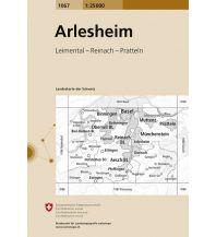 1067 Arlesheim Bundesamt für Landestopographie