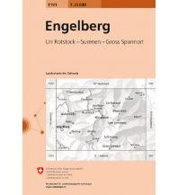 Wanderkarten Schweiz & FL Landeskarte der Schweiz 1191, Engelberg 1:25.000 Bundesamt für Landestopographie