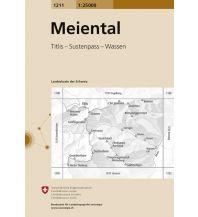 Wanderkarten Schweiz & FL Landeskarte der Schweiz 1211, Meiental 1:25.000 Bundesamt für Landestopographie