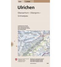 Wanderkarten Schweiz & FL Landeskarte der Schweiz 1250, Ulrichen 1:25.000 Bundesamt für Landestopographie