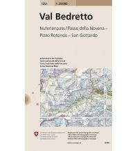 Wanderkarten Schweiz & FL Landeskarte der Schweiz 1251, Val Bedretto 1:25.000 Bundesamt für Landestopographie
