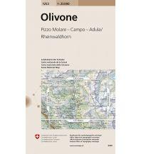 Wanderkarten Schweiz & FL Landeskarte der Schweiz 1253, Olivone 1:25.000 Bundesamt für Landestopographie