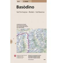 Wanderkarten Schweiz & FL Landeskarte der Schweiz 1271, Basòdino 1:25.000 Bundesamt für Landestopographie