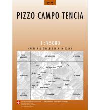 Wanderkarten Schweiz & FL Landeskarte der Schweiz 1272, Pizzo Campo Tencia 1:25.000 Bundesamt für Landestopographie