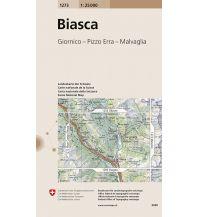 Wanderkarten Schweiz & FL Landeskarte der Schweiz 1273, Biasca 1:25.000 Bundesamt für Landestopographie