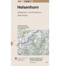 Wanderkarten Schweiz & FL Landeskarte der Schweiz 1290, Helsenhorn 1:25.000 Bundesamt für Landestopographie