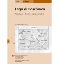 Wanderkarten Schweiz & FL Landeskarte der Schweiz 1298, Lago di Poschiavo 1:25.000 Bundesamt für Landestopographie