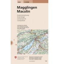 2504 Magglingen - Macolin Bundesamt für Landestopographie