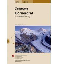 Wanderkarten Schweiz & FL Landeskarte der Schweiz 2515, Zermatt, Gornergrat 1:25.000 Bundesamt für Landestopographie
