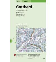 Wanderkarten Schweiz & FL Gotthard Bundesamt für Landestopographie