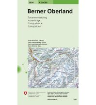 Wanderkarten Schweiz & FL Berner Oberland Bundesamt für Landestopographie